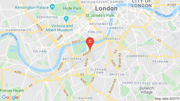 Prince Of Wales Drive location map