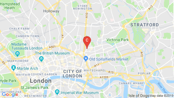 Shoreditch Exchange location map